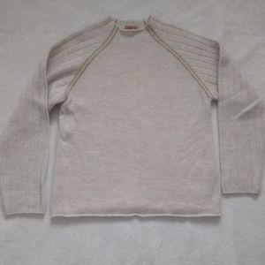 GUESS alpaca wool mock neck sweater
